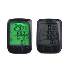 Digital Speedometer Odometer LCD Waterproof Bike Bicycle Cycling Computer Speedo Backlight